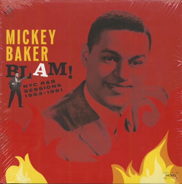 Mickey Baker - Blam - NYC R 'n' B Sessions 1953 - 1961 (LP, 180g Vinyl)