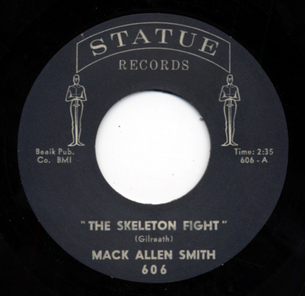 The Skeleton Fight - Don't Let Me Treat You That Way (7inch, 45rpm)