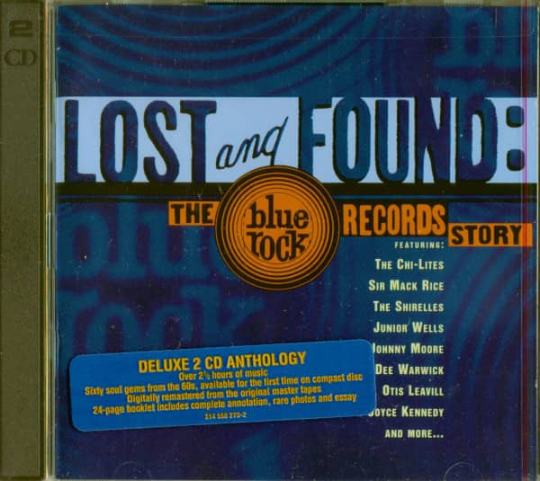 Blue Rock Records Story (2-CD, Cut-Out)