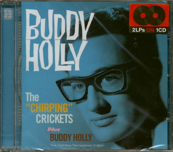 """The """"Chirping"""" Crickets Plus Buddy Holly (CD)"""
