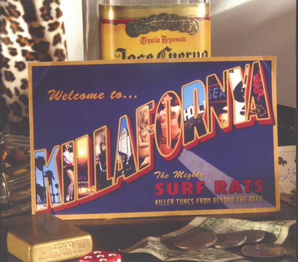 Welcome To Killafornya (CD)