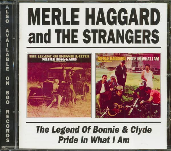 Legend Of Bonnie & Clyde - Pride In What I Am (CD)