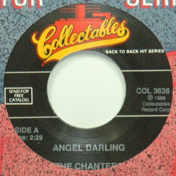 Angel Darling b-w Five Little Kisses 7inch, 45rpm