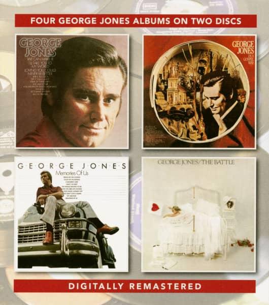 George Jones - In A Gospel Way - Memories Of US - The Battle (2-CD)