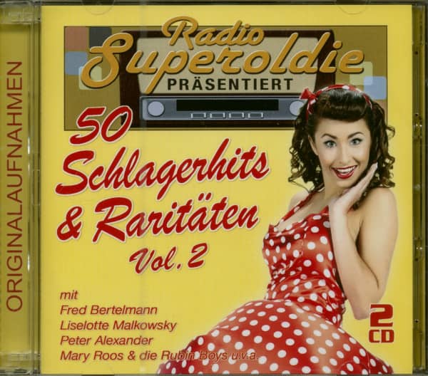 50 Schlagerhits & Raritäten Vol.2 (2-CD)