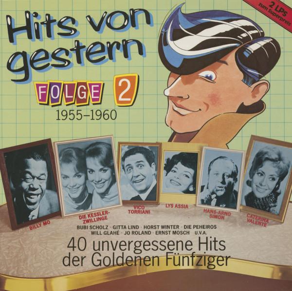 Hits von Gestern, Vol.2 (2-LP)
