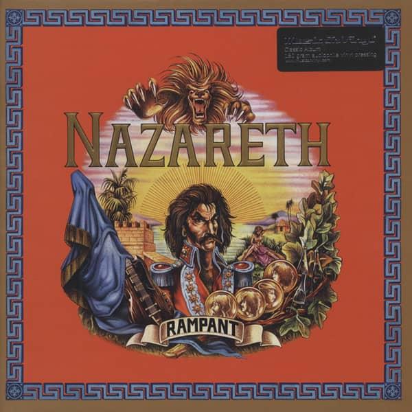 Rampant (1974) 180g Rmst. Gatefold - Klappcover