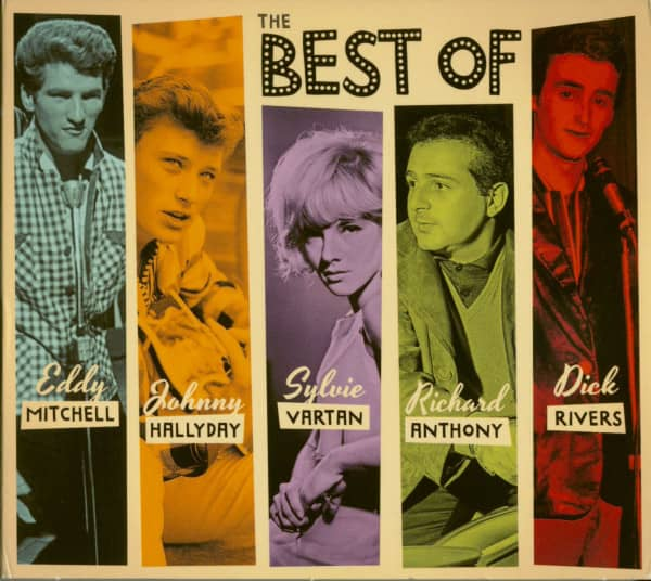Best Of French 1960s Legends (5-CD)