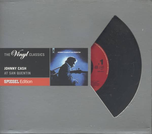 Johnny Cash At San Quentin - Spiegel Edition - The Vinyl Classics (CD)