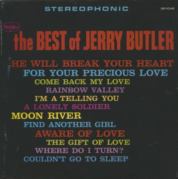 The Best Of Jerry Butler (LP)