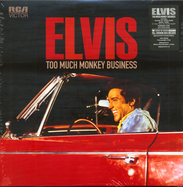 Too Much Monkey Business (2-LP, Limited Edition)