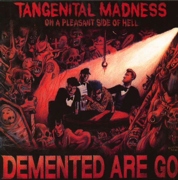 Tangenital Madness On A Pleasant Side Of Hell (LP, White Vinyl)