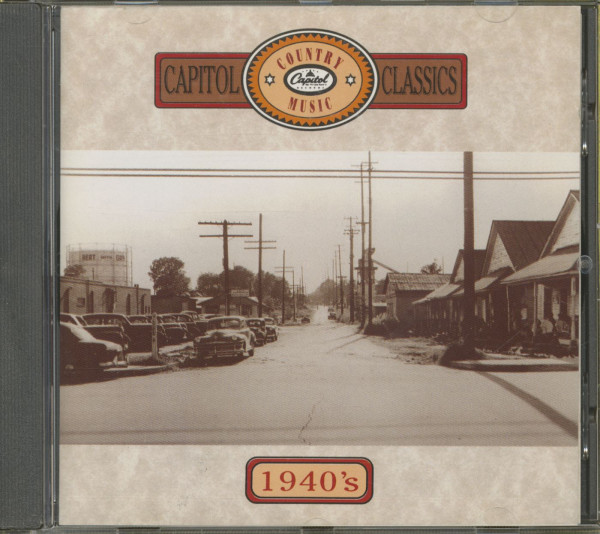 Capitol Country Music Classics - The 1940s (CD)