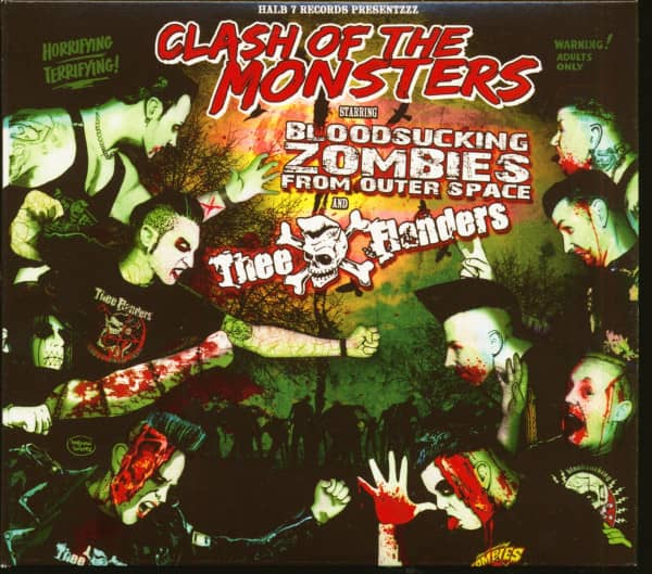 Clash Of The Monsters (2-CD, Limited Edition)