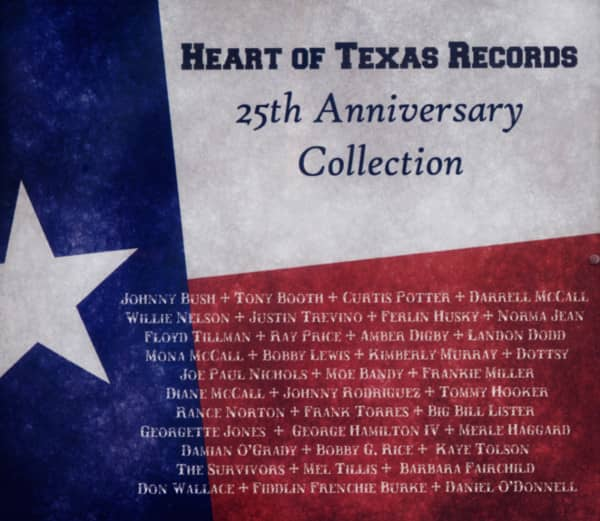 Heart Of Texas Records - 25th Anniversary Collection (3-CD)