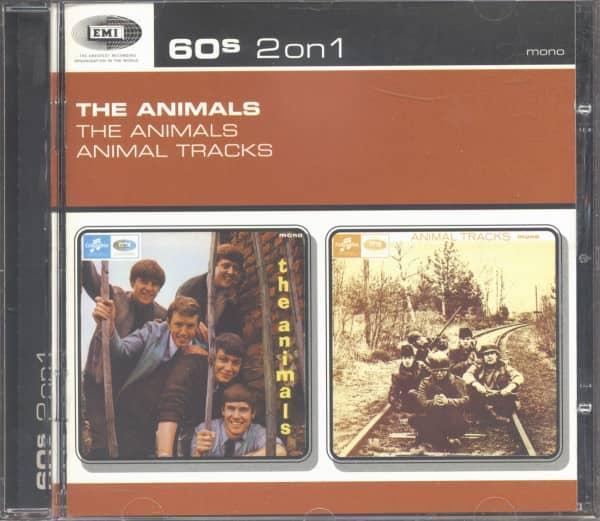 60s 2 on 1 - The Animals & Animal Tracks (CD)