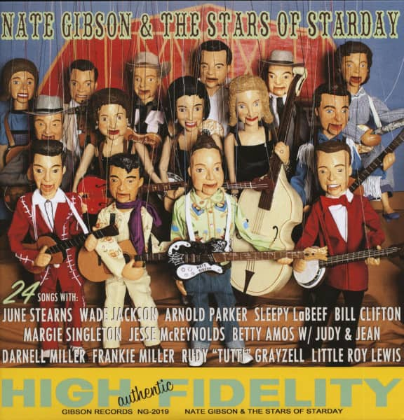 Nate Gibson & The Stars Of Starday (2-LP)