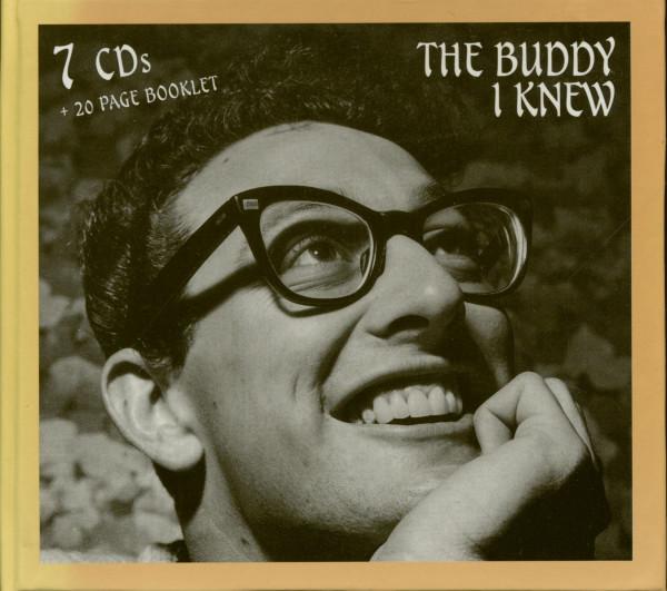 98e5abf503d3 Buddy Holly CD  The Buddy I Knew (7-CD) - Bear Family Records