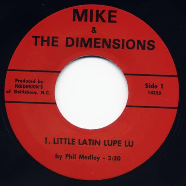 Little Latin Lupe Lu b-w Why 7inch, 45rpm