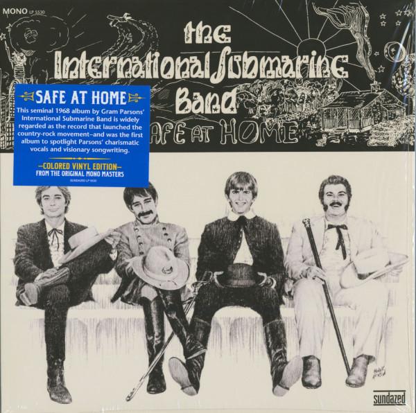 Safe At Home (Mono edition, white vinyl)