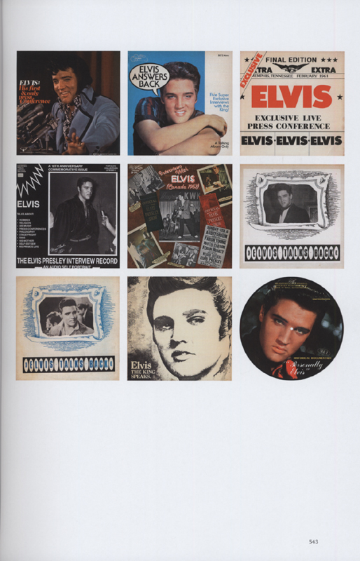 Elvis Presley Bücher/Books: Bootleg Elvis - Vinyl Edition - Bear