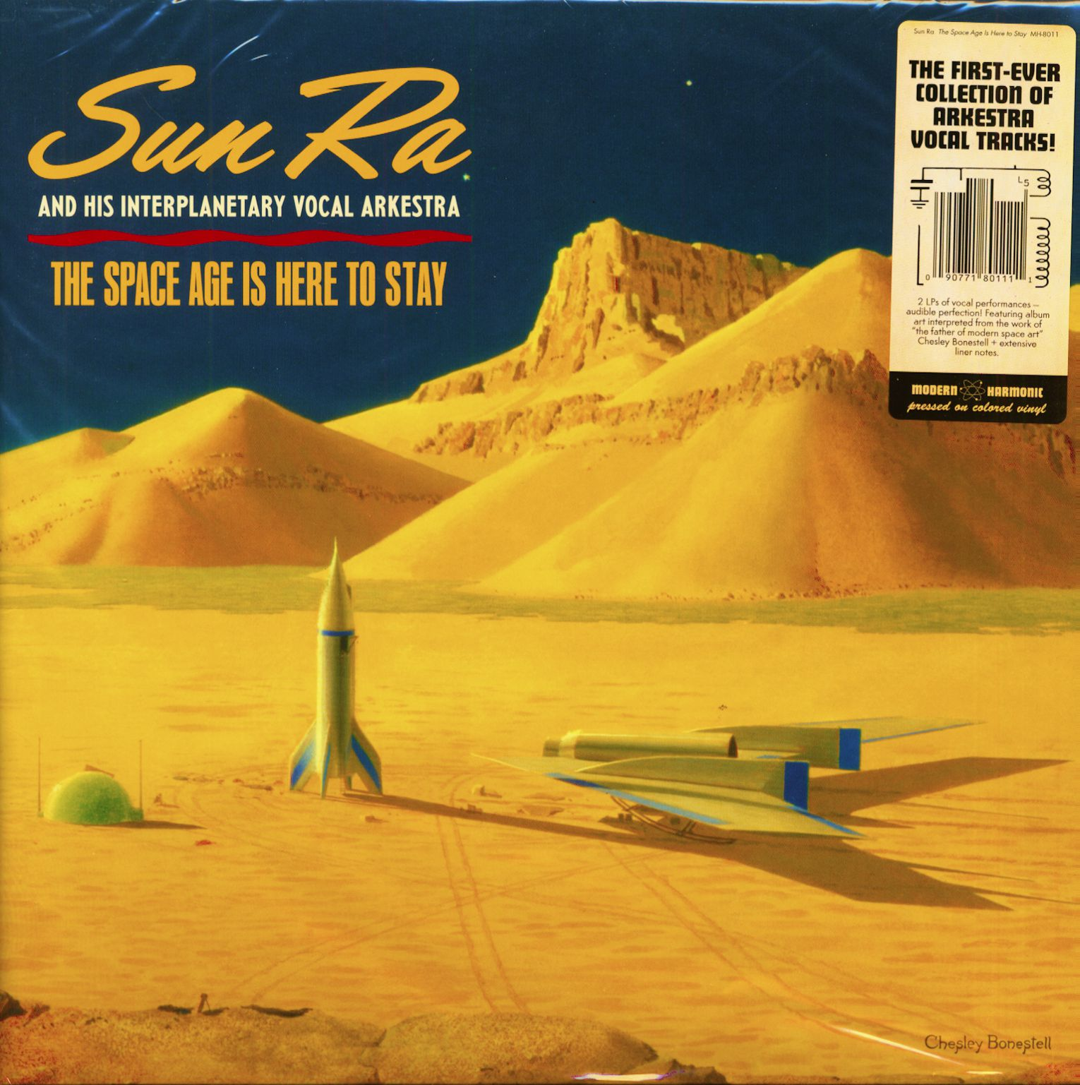 Sun Ra & His Arkestra LP : The Space Age Is Here To Stay (2-LP, Colored Vinyl) - Bear Family Records