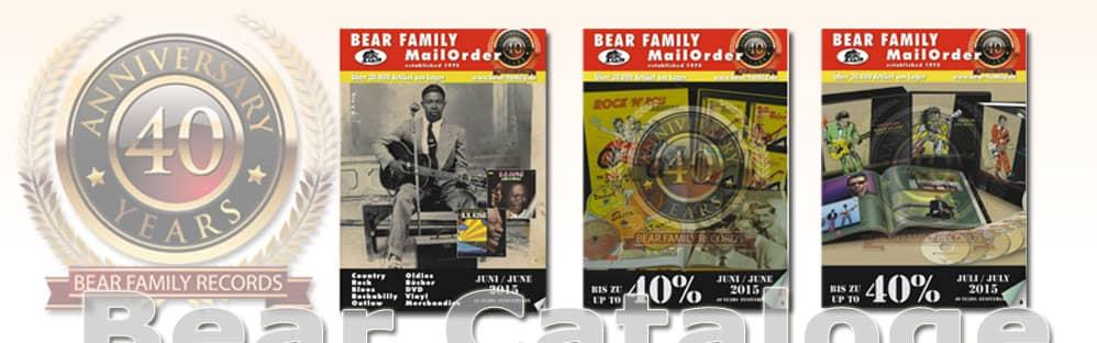 Bear Family Mailoder Catalog