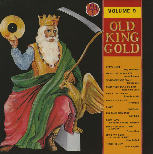 Old King Gold Vol.9 (LP)