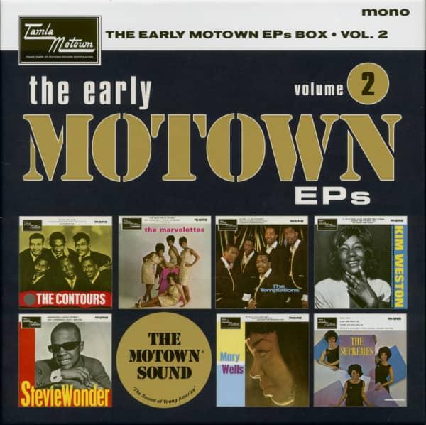 The Early Motown EPs Vol.2 Vinyl Box (7x45rpm EP Box Set, 7inch, SC)