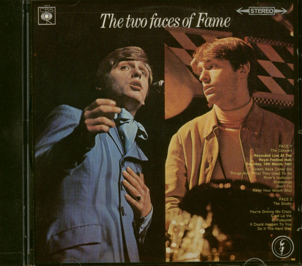 The Two Faces Of Fame (CD)