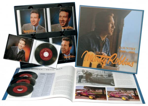 Country 1960-1966 (4-CD Deluxe Box Set)
