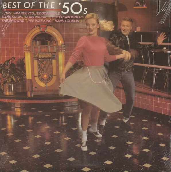 RCA Country - The 1950s (LP, Cut-out)