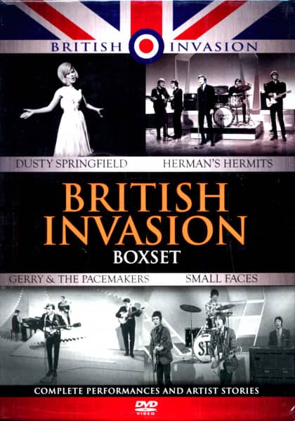 British Invasion (4-DVD+CD)