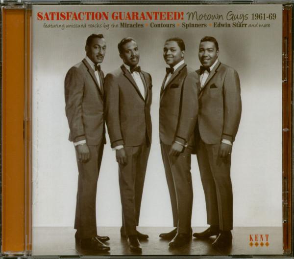 Satisfaction Guaranteed - Motown Guys 1961-69 (CD)