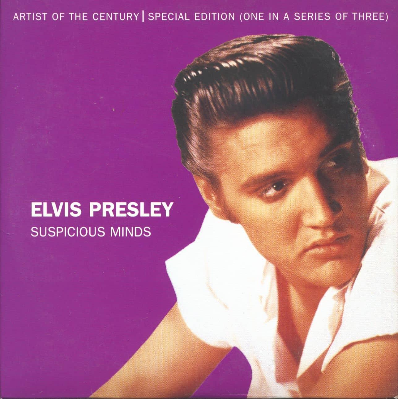 Elvis Presley CD: Suspicious Minds (CD Single, Ltd.) - Bear Family Records