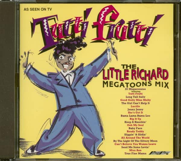 The Little Richard Megatoons Mix (CD)
