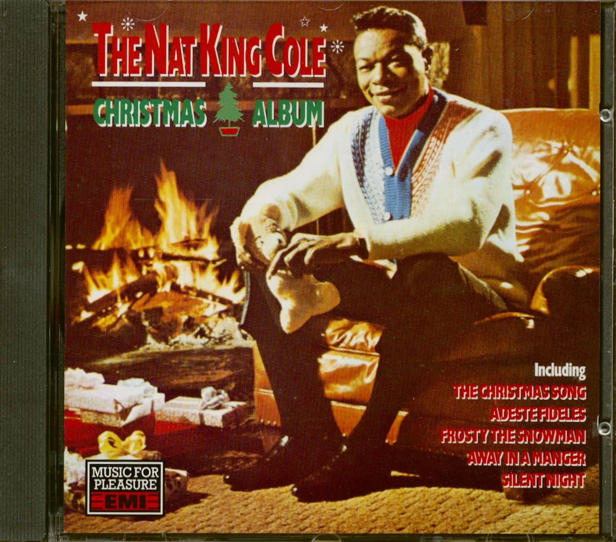 Nat 'King' Cole CD: The Nat King Cole Christmas Album (CD) - Bear Family Records