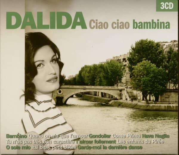 Dalida Ciao Ciao Bambina (3-CD)