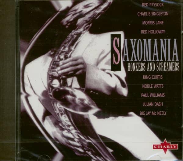 Saxomania - Honker & Screamers (CD)