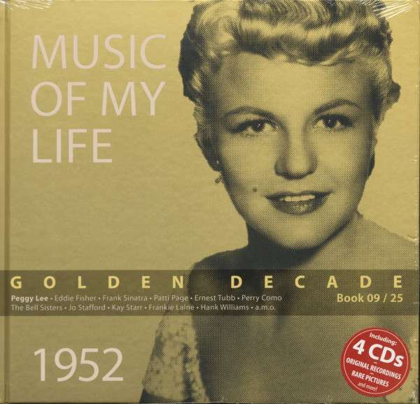Golden Decade Vol.9 - 1952 (Book & 4-CD)