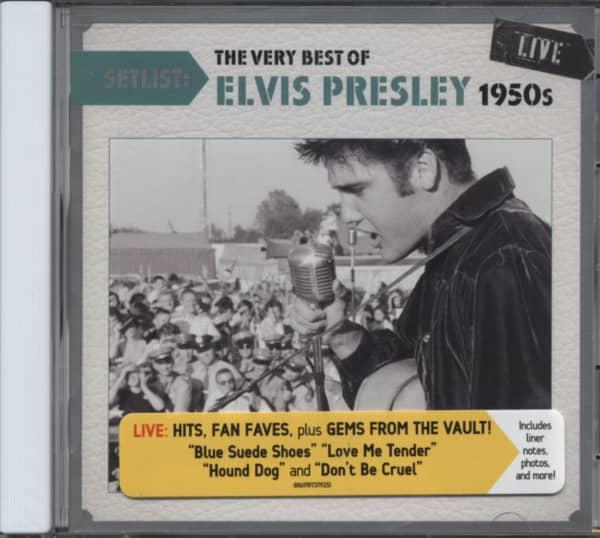Setlist: Very Best Of Elvis 50s Live
