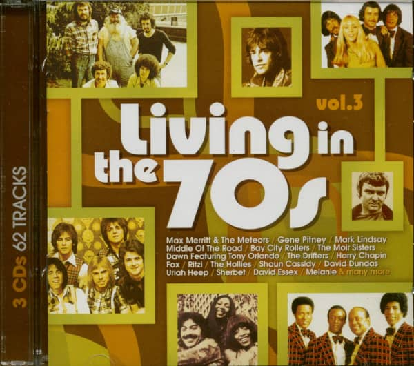 Living In The 70's Vol.3 (3-CD)