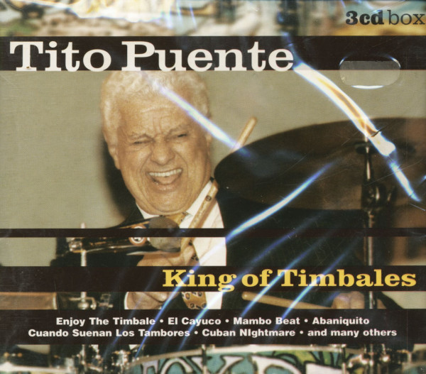 King Of Timbales (3-CD)