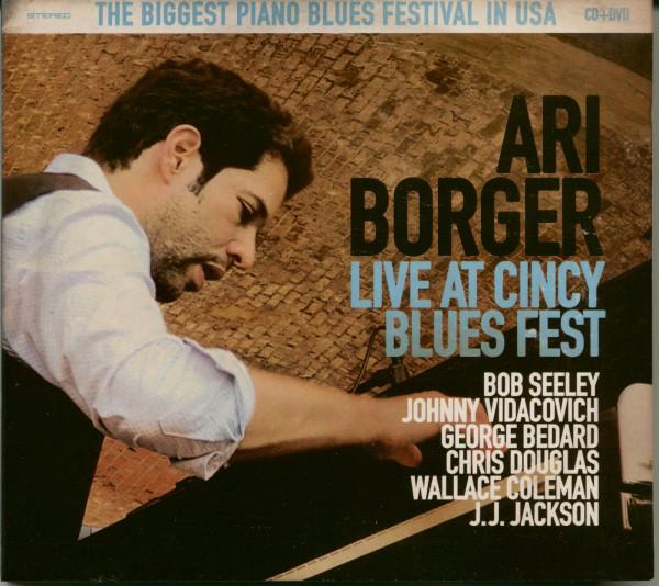 Live At Cincy Blues Fest (CD,DVD)
