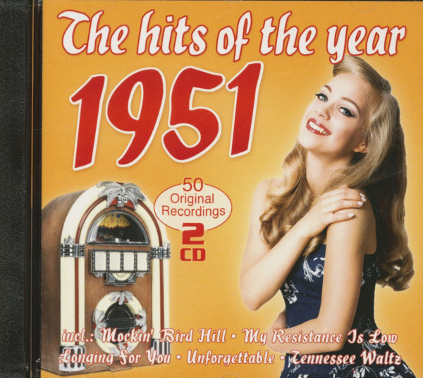 The Hits Of The Year 1951 - 50 Original Recordings (2-CD)