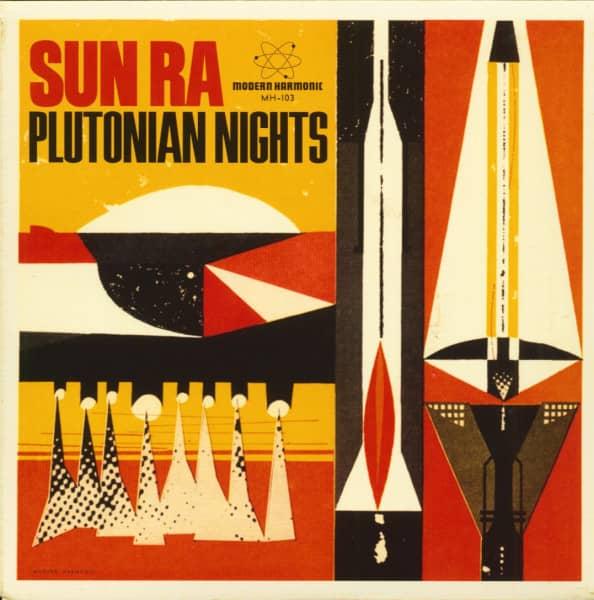 Plutonian Nights - Reflects Motion-Pt.1 (45rpm Single, PS, BC, Pink Vinyl)