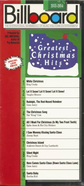 Billboard Greatest Christmas Hits - 1935-54 (CD Longbox)