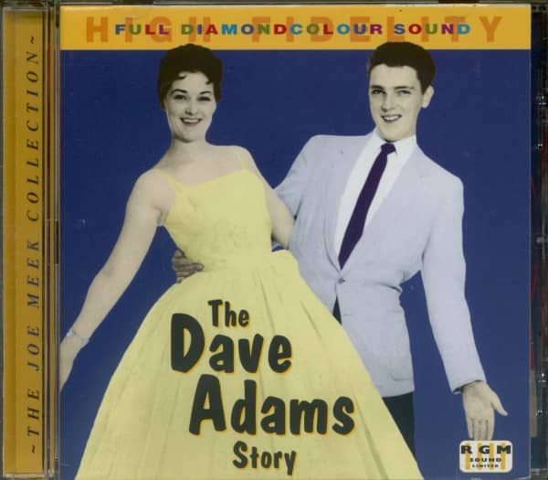 The Dave Adams Story (CD)