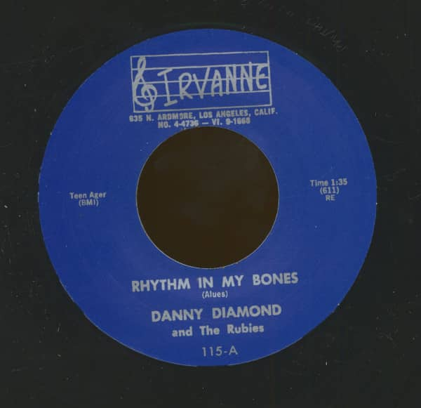 Rhythm In My Bones - The Badman (7inch, 45rpm)