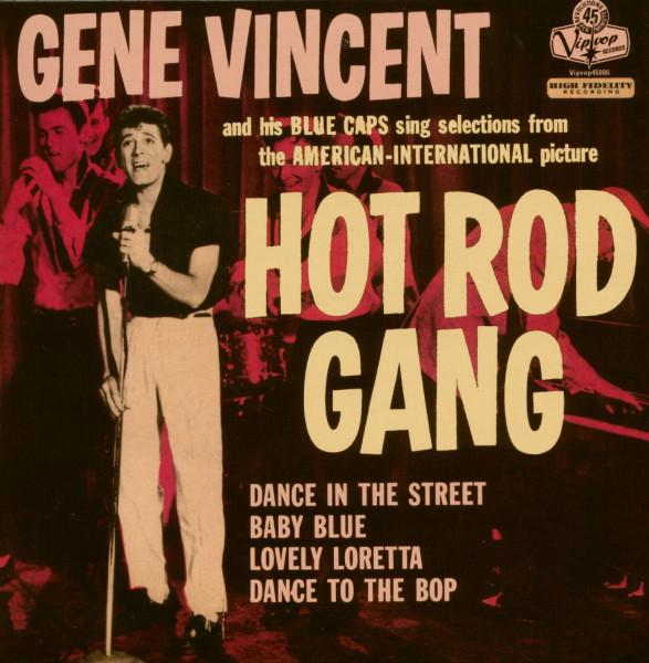 Hot Rod Gang (7inch, EP, SC, 45rpm, Ltd.)